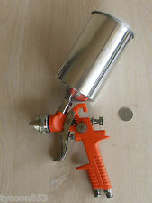 PAINT SPRAY GUN PROFESSIONAL GRAVITY FEED 1.4mm NOZZLE HVLP FOR CARS TRUCKS ETC