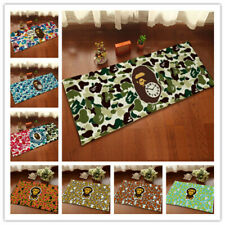 BAPE Bathing APE Door Rug Carpet Floor Mat Bedroom Anti-Slip Living Room Home