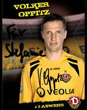 Volker Oppitz Dynamo Dresden 2009-10 TOP AK  + A 76466