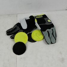 BLEM SECTOR NINE Slide Gloves Apex Black L/XL