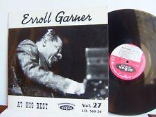 Erroll Garner - At His Best  LD 560-30 France LP 1stP 1962 Disques Vogue