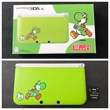 Nintendo 3DS XL: Yoshi Edition - Mint Condition CIB With 4GB SD Card