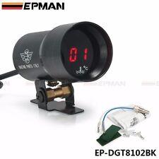 37mm Compact Micro Digital Smoked Lens Water Temp Temperature Gauge Auto gauge
