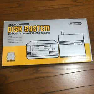 Nintendo Famicom Disk System HVC-022 Console RAM Adapter Set Tested