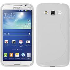 Funda de silicona Samsung Galaxy Grand 2 S-Style blanco