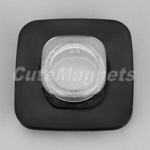 Black Jar Lid Cap Center Filler Cap Fits For Square Top Oster Osterizer Blender