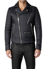 DIESEL J-YUDA BLACK JACKET SIZE M 100% AUTHENTIC