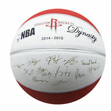 Spalding Houston Rockets Limited Edition Basketball Stamp Inscribed with 2014 -