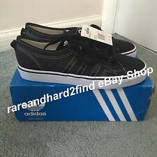 Adidas NIZZA LO CL Originals UK11 Trainers Limited Edition Contrast Stitching