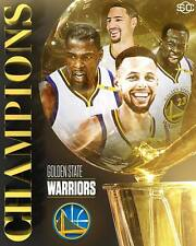 6269afc7b39b GOLDEN STATE WARRIORS KEVIN DURANT STEPH CURRY 2017 NBA CHAMPIONS 8X10  PHOTO  2