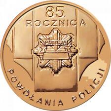 POLONIA 2 Zl. 2004 - 85 años de la POLICÍA - Poland 2 zł 85 Years of the Police