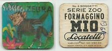 Formaggino MIO LOCATELLI_Figurina animata_Serie ZOO - Monkey e Zebra 1 di 6*