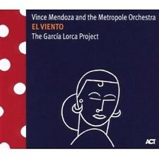 VINCE MENDOZA - EL VIENTO-THE GARCIA LORCA PROJECT  CD NEU