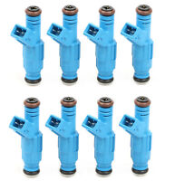 Pack(8) Blue 30lb Fuel Injectors For Camaro Covertte Mustang V8 LS1 LT1 315cc
