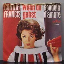 """(o) Connie Francis - Wenn Du Gehst (7"""" Single)"""