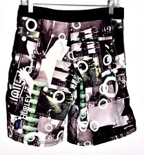 Hurley Mens Board Shorts Size 30 Graphic Mens Swimming Trunks