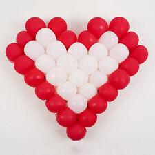 """Best Hard Clear Plastic 38 Cells Net Model Frame Heart Shape for 5"""" Balloons XE"""