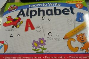 A4 Learn To Write Alphabet Handwriting Practice Letters Book Pad for Kids