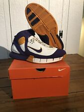 Nike Air Zoom Huarache 2K5 White Purple Gold Lakers 9.5 Kobe