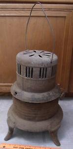 Rare Antique Vintage Perfection ? Kerosene Burner Heater Stove