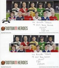Football Used Great Britain First Day Covers (1971-Now)