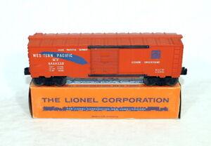 Scarce Postwar Lionel 6464-250 Western Pacific Boxcar~Mint Unrun~w/Renumbered OB