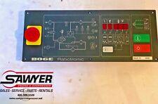Boge Compressor air Circuit Panel part 681.0022.01 Controller electronic machine