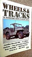 WHEELS & TRACKS MAGAZINE #1:THE INTERNATIONAL REVIEW OF MILITARY VEHICLES (1982)