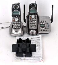 Panasonic KX-TG5632M Home Cordless 2 Phone System