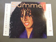 """DONNA SUMMER SELF TITLED LP W/ LYRIC SLEEVE """"LOVE IS IN CONTROL"""" QUEEN OF DISCO"""