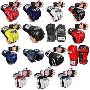 FAIRTEX FGV Series ULTIMATE COMBAT GLOVES MARTIAL ARTS MMA K1 BOXING Sprting