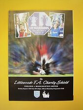 FA Charity Shield - Chelsea v Manchester United - 3rd August 1997