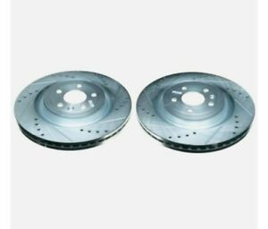 Power Stop AR85141XPR Disc Brake Rotor Set For Select 13-19 Ford Lincoln Models