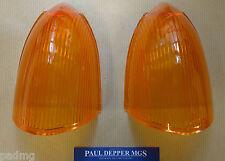 MG MGB GT Rear Indicator Lamp Lenses (Lucas) (57H5354)