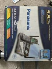 KX-TG5571M 5.8GHz Expandable Digital Cordless Answering System 4 Handsets