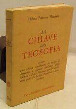 ESOTERISMO - H. Petrovna Blavatsky: La chiave della TEOSOFIA - Astrolabio 1982
