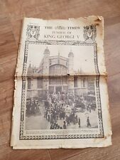 Vintage Newspaper Supplement The Times Funeral of King George V January 29 1936