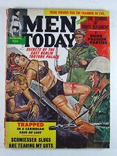 Men Today Magazine February 1962 RARE Nazi Pulp Bondage Vintage Magazine
