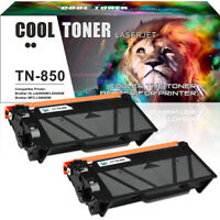 2PK for Brother TN850 Toner  HL-L6200DW MFC-L5800DW MFC-L5900DW MFC-L5850DW