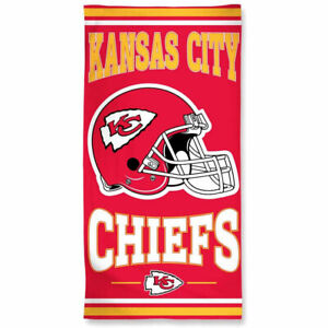 "Officially Licensed NFL Kansas City Chiefs Beach Towel, 30"" x 60"""