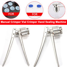 20mm Manual Crimper Flip Caps Stainless steel for Pharmaceutical Food Packaging