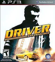 Driver: San Francisco - Playstation 3 Game