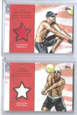 2012 TOPPS OLYMPIC ROGERS / DALHAUSSER BRONZE /75 RELIC CARDS ~ BEACH VOLLEYBALL