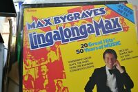 MAX BYGRAVES    LINGALONGAMAX    LP   20 GREAT HITS   RONCO RECORDS    RPL 2033