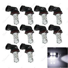 10X White 9005 HB3 P20d 12 CREE LED Foglight Turn Light Fog Lamp Bulb Auto ZH263