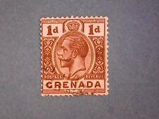 Grenada. KGV 1923 1d Brown. SG114. Wmk Mult Script CA. P14. Used.