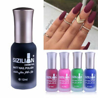 Fashion Women Nail Polish Scrub Non - Toxic Environmentally Friendly Matte Satin