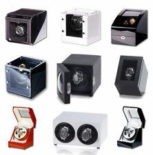 Uhrenbeweger für 1-2 Uhren Viele Modelle Klavierlack Wurzelholz WatchWinder