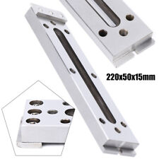 1Set Edm Wire Fixture Board Stainless Jig Tool Clamping/Leveling 220x50x15mm Us