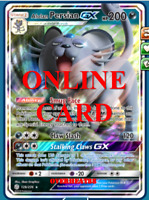 Alolan Persian GX RA Cosmic Eclipse Digital Card Pokemon TCG ONLINE PTCGO FAST!